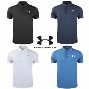 2020 Under Armour Mens UA Golf Sports Polo Shirt Smooth Shirts Tops