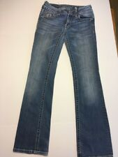 Buckle MISS ME JP5124B Embellished Boot Cut Low Rise Jeans 29/35