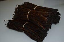 100G Bourbon Vanilla Pods  Madagascar Beans Grade EXTRACT 16-20CM SOME SPLIT