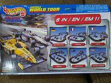 Tyco Mattel Hot Wheels Formula World Tour Slot Car Racing Set 440-x2 Jordan v Mc