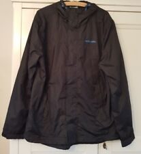 Man's McKENZIE LIGHTWEIGHT NAVY WINDCHEATER HOODED GOLF JACKET - Size LARGE
