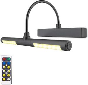 Art Light Wireless LED For Portrait Artwork Painting Picture Wall Gallery Remote