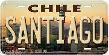 Santiago Chile Novelty Aluminum Auto License Plate P03