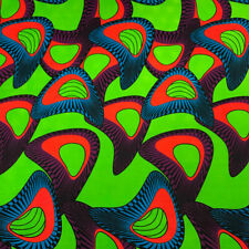 African Print Fabric 100% Cotton 44'' wide sold by the yard (90146-3)