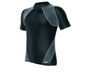 Shock Doctor Men's Velocity Motion 360 Short Sleeve Compression Fit Shirt, S-XXL