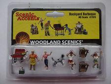Woodland Scenics Ho #1929 Backyard Barbeque