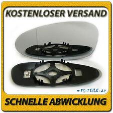 spiegelglas für PORSCHE 911 05-12 links asphärisch beheizbar fahrerseite