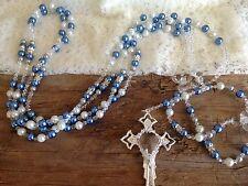 SWAROVSKI  BLUE PEARLS WEDDING LASSO/ Lazo de bodas en Perlas Swarovski Azules