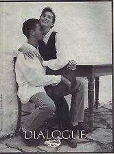 PUBLICITE ADVERTISING  1993    DIALOGUE  haute couture