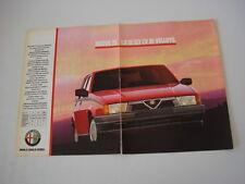 advertising Pubblicità 1989 ALFA ROMEO 75 1.8 IE