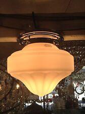 NEW ARTDECO SHADE LAMP GLASS SHADE FITTING VICTORIAN ART DECO LIGHT PENDANT 2