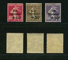 """FRANCE N°266/68 """"C/A 4e SERIE""""NEUFS xxSUP,VALEUR:504€ ."""