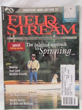 Field & Stream Magazine March 1997 Special Fishing Section~Shooters Wish List