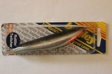 "BAGLEY RATTLIN TWITCHER BS Black & Silver Foil 4 1/4"" Fishing Lure NIP NOS"