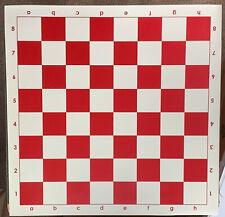 Basic Vinyl Chess Board (Red)