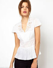 Karen Millen Cotton V Neck Tops & Shirts for Women