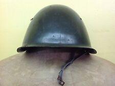 VINTAGE STEEL COMBAT HELMET, CA WW II.  WITH INSIDE LINER