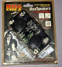 KISS Dressed To Kill iBox Speakers SEALED 2008 MIP Gene Simmons Ace Frehley