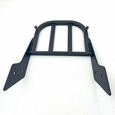 Black Sissy Bar Luggage Rack For Honda VTX 1300C/VTX 1800C/VTX 1800F Aluminum