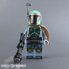 Lego Star Wars - Boba Fett Minifigure - BRAND NEW - with Blaster and Jetpack