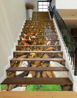 3D Kopfsteinpflaster 217NA Stair Risers Dekoration Vinyl Aufkleber Tapete Fay