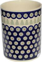 Polish Pottery Utensil Jar from Zaklady Ceramiczne Boleslawiec GU832/312