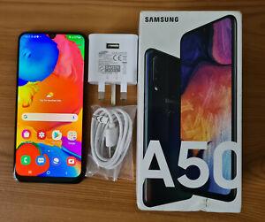 Samsung Galaxy A50 - SM-A505F/DS 128GB - Blue (Unlocked) (Dual SIM)