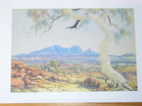 "ALBERT NAMATJIRA : "" MOUNT CONNOR NEAR MUSGROVE RANGES """