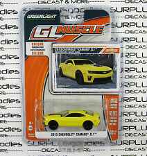 GREENLIGHT 1:64 GL Muscle Series 13 Rally Yellow 2013 CHEVROLET Chevy CAMARO ZL1