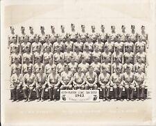 ORIGINAL MILITARY PHOTOGRAPH: U.S.M.C. PLATOON 470 GRADUATION, SAN DIEGO - 1942