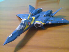 YF-21 Omega One Macross Spacecraft Wood Model Replica Small Free Shipping