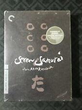 Seven Samurai The Criterion Collection 3 Disc Set Factory Sealed