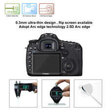Camera LCD Screen Guard Protector Clear Tempered Glass For Canon 5D MarkIII DSLR
