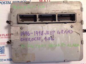 "1996-1998 Jeep Grand Cherokee 4.0L Engine Computer ""Plug & Play"" Remanufactured"