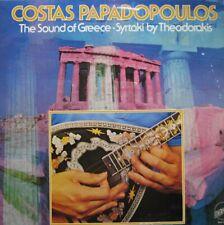 COSTAS PAPADOPOULOS - THE SOUND OF GREECE SYRTAKI BY MIKIS THEODORAKIS  -  LP