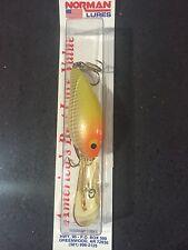 Norman DD 22 1/4 Oz Neon Yellow Orange Head Silver Scale