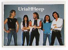 1980s Spanish Pop Star Card #49 UK Rock Band Uriah Heep Lee Kerslake Mick Box
