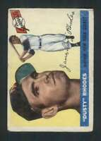 1955 Topps #1 Dusty Rhodes GVG NY Giants 86519