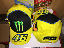 CAP HAT CAPPELLINO VALENTINO ROSSI SPONSOR MOTOGP 2013 SIZE U ADJUSTABLE FREE S.