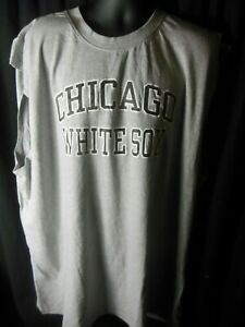 Chicago White Sox MLB Men's Majestic Sleeveless Shirt 3X
