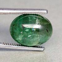 TOP EMERALD : 5,25 Ct Natürlicher Grüner Smaragd aus Sambia