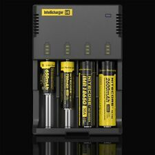 Nitecore i4 Intellicharge Universal Battery Charger Li-ion 26650 18650 AA/AAA