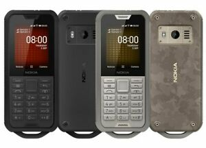 Nokia 800 Tough 4G Dual SIM Rugged Cell Phone 2100mAh KAI OS Wi-Fi Outdoor IP68