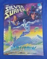 SILVER SURFER HOMECOMING JIM STARLIN MARVEL COMICS GRAPHIC NOVEL TPB 1991
