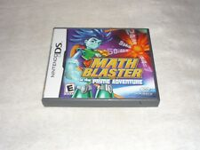 Math Blaster in the Prime Adventure (Nintendo DS, 2009)  COMPLETE
