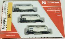 3er Set Zacens SNCF Knickkesselwagen Ep V Fleischmann 846002 N 1:160 NEU HR1 µ*