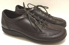 Walking Cradle Ava Oxford Walking Shoe Lace Up Leather Brown Casual Comfort 10B