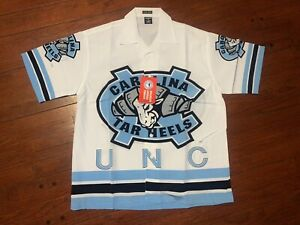 Vintage North Carolina Tar Heels UNC Military IV Columbia All Over Print Sz. 2X