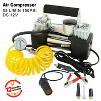 Car air compressor 12v 4WD portable 85L tyre inflator Deflator hose truck pump