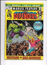 Marvel Feature #2 Presents The Defenders March 1972 2nd appearance The Defenders
